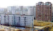 """Планування й забудова мікрорайону """"Дачний"""". Сумська обл., м. Охтирка. 1980 р."""