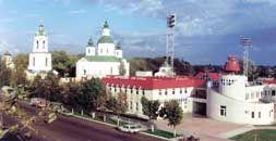 Готельно-спортивний комплекс. Сумська обл., м. Охтирка. 1997-1999 р.